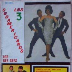 Catálogos de Música: ASI CANTA LOS 3 SUDAMERICANOS Y LOS BEE GEES - CANCIONERO - EDITORIAL ALAS 1968. Lote 55918244