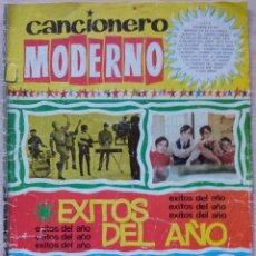 Catálogos de Música: CANCIONERO MODERNO - EXITOS DEL AÑO - EDICIONES ESTE 1965. Lote 55931492