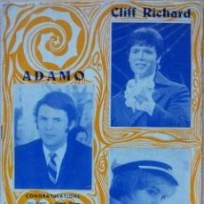 Catálogos de Música: CANCIONERO CLIFF RICHARD, ADAMO Y KARINA - EDICIONES MARAZUL 1968. Lote 55931738