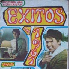 Catálogos de Música: ANTOLOGIA DEL CANCIONERO - EXITOS DE 1967 - EDITORIAL ALAS. Lote 55932234