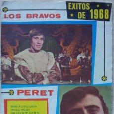 Catálogos de Música: ANTOLOGIA DEL CANCIONERO - EXITOS DE 1968 - EDITORIAL ALAS. Lote 55932323
