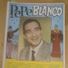 Catálogos de Música: PEPE BLANCO CANCIONERO AÑO 1961. Lote 56086706