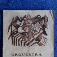 Catálogos de Música: ORQUESTA PAU CASALS / SISÈ CONCERT DE TARDOR / PALAU DE LA MÚSICA CATALANA / 30 OCTUBRE 1927. Lote 56261188