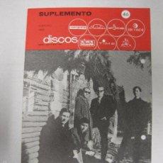 Catálogos de Música: CATALOGO DISCOS VERGARA - BARCELONA - SUPLEMENTO FEBRERO 1966-VER FOTOS-(V-5302) . Lote 56372856