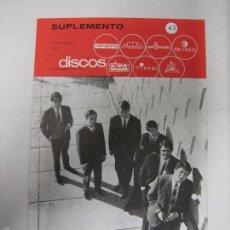 Catálogos de Música: CATALOGO DISCOS VERGARA - BARCELONA - SUPLEMENTO NOVIEMBRE 1965-VER FOTOS-(V-5303) . Lote 56372874