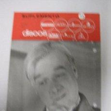 Catálogos de Música: CATALOGO DISCOS VERGARA - BARCELONA - SUPLEMENTO ENERO 1967-VER FOTOS-(V-5307) . Lote 56372955