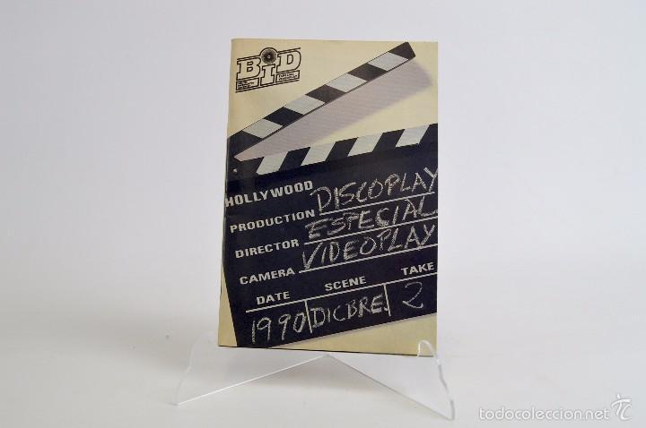 BID ESPECIAL DISCOPLAY VIDEOPLAY - DICIEMBRE 1990 BOLETIN INFORMATIVO DISCOPLAY (Música - Catálogos de Música, Libros y Cancioneros)