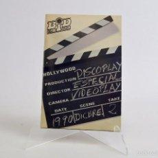 Catálogos de Música: BID ESPECIAL DISCOPLAY VIDEOPLAY - DICIEMBRE 1990 BOLETIN INFORMATIVO DISCOPLAY. Lote 56600555