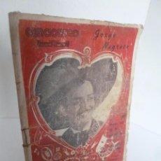 Catálogos de Música: CANCIONERO JORGE NEGRETE (EDICIONES ATLAS) . Lote 56800173