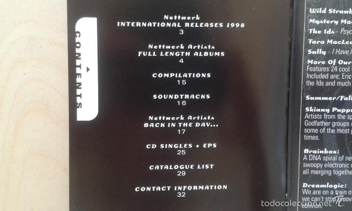 Catálogos de Música: Catálogo de música -- Nettwerk -- [ 1998 International Catalogue ] -- Vancouver ( Canadá ) - Foto 2 - 56874188