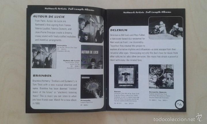 Catálogos de Música: Catálogo de música -- Nettwerk -- [ 1998 International Catalogue ] -- Vancouver ( Canadá ) - Foto 3 - 56874188