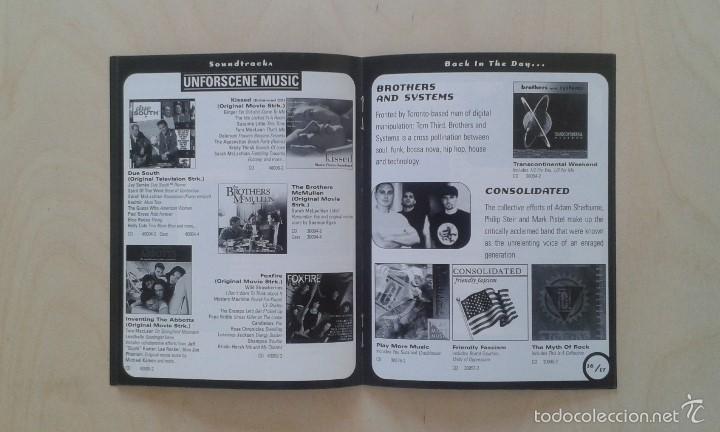Catálogos de Música: Catálogo de música -- Nettwerk -- [ 1998 International Catalogue ] -- Vancouver ( Canadá ) - Foto 4 - 56874188