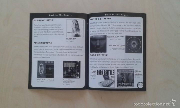 Catálogos de Música: Catálogo de música -- Nettwerk -- [ 1998 International Catalogue ] -- Vancouver ( Canadá ) - Foto 5 - 56874188