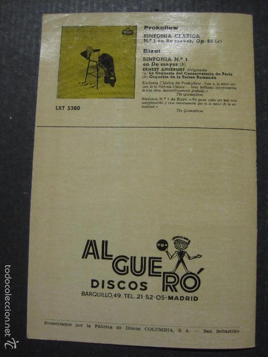 Catálogos de Música: CATALOGO DISCOS DECCA - 50 CLASICOS INMORTALES ENERO 1959 - VER FOTOS Y MEDIDAS -( V- 5615) - Foto 7 - 56893350