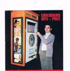 Catálogos de Música: CANCIONERO HITS PRES VICTOR MANUEL. Lote 56898257