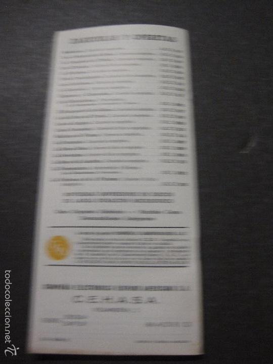 Catálogos de Música: CATALOGO DISCOS -LA VOZ DE SU AMO ODEON REGAL PATHE MGM- JUANITO SEGARRA - VER FOTOS - (V-5643) - Foto 8 - 56918814