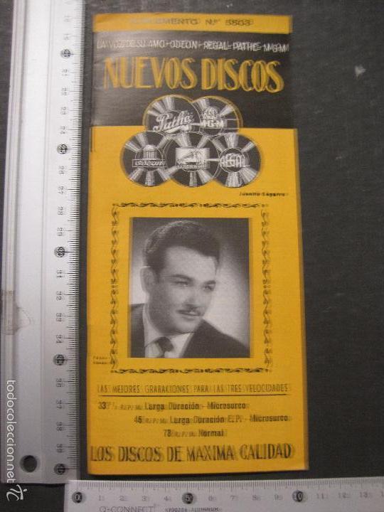 Catálogos de Música: CATALOGO DISCOS -LA VOZ DE SU AMO ODEON REGAL PATHE MGM- JUANITO SEGARRA - VER FOTOS - (V-5643) - Foto 9 - 56918814