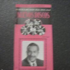 Catálogos de Música: CATALOGO DISCOS -LA VOZ DE SU AMO ODEON REGAL PATHE MGM- XAVIER CUGAT - VER FOTOS - (V-5644). Lote 56918846