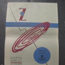 Catálogos de Música: CATALOGO DISCOS - ZAFIRO -OCTUBRE 1958 - VER FOTOS - (V-5649). Lote 56919147