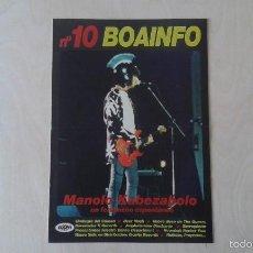 Catálogos de Música: BOAINFO Nº 10 - MANOLO KABEZABOLO, SINDICATO DEL CRIMEN, BEER MOSH, BERROGÜETTO, THE KILLERS BARBIES. Lote 57256154