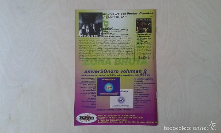 Catálogos de Música: BOAINFO nº 12 - La Polla, El Club de los Poetas Violentos ( CPV ), CasKärrabias, Los Morochos... - Foto 3 - 57256217