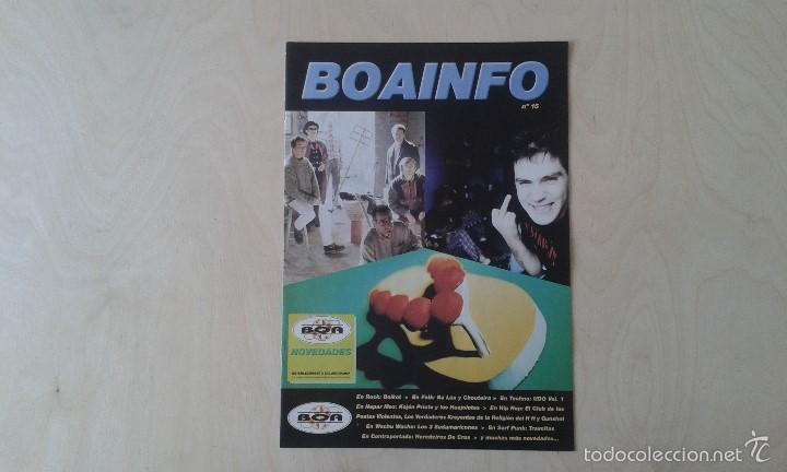 BOAINFO Nº 15 - CPV, VKR, GUNSHOT, KOJÓN PRIETO Y LOS HUAJOLOTES, BOIKOT, NA LÚA, CHOUTEIRA... (Música - Catálogos de Música, Libros y Cancioneros)