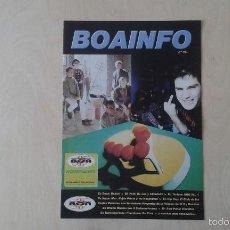 Catálogos de Música: BOAINFO Nº 15 - CPV, VKR, GUNSHOT, KOJÓN PRIETO Y LOS HUAJOLOTES, BOIKOT, NA LÚA, CHOUTEIRA.... Lote 57256298