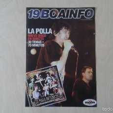 Music Catalogs - BOAINFO nº 19 - La Polla, Parafünk, Biyi, Make Up, Pee Gonzalez, Asian Dub Foundation, Groove Crew.. - 57256403