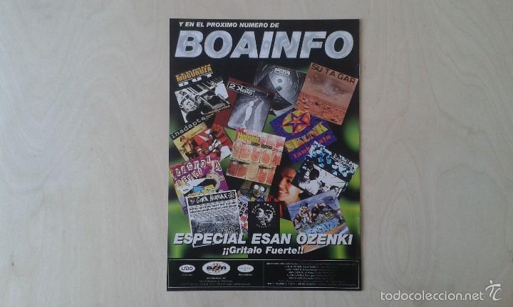 Catálogos de Música: BOAINFO nº 19 - La Polla, Parafünk, Biyi, Make Up, Pee Gonzalez, Asian Dub Foundation, Groove Crew.. - Foto 3 - 57256403