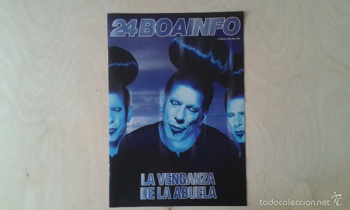BOAINFO Nº 24 - LA VENGANZA DE LA ABUELA, SKALARIAK, LAUREL AITKEN, RUDE, SFDK, GERONACIÓN.... (Música - Catálogos de Música, Libros y Cancioneros)