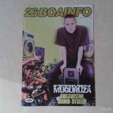 Music Catalogs - BOAINFO nº 26 - Fermín Muguruza, 2 Kate, Ramiccia, Ari, Payo Malo, Jauría, Dj Spinna, Moockie.... - 57256554