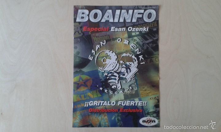 BOAINFO -- ESPECIAL ESAN OZENKI -- ANARI, JOXE RIPIAU, KASHBAD, SKUNK, SU TA GAR, ANESTESIA, 2 KATE. (Música - Catálogos de Música, Libros y Cancioneros)