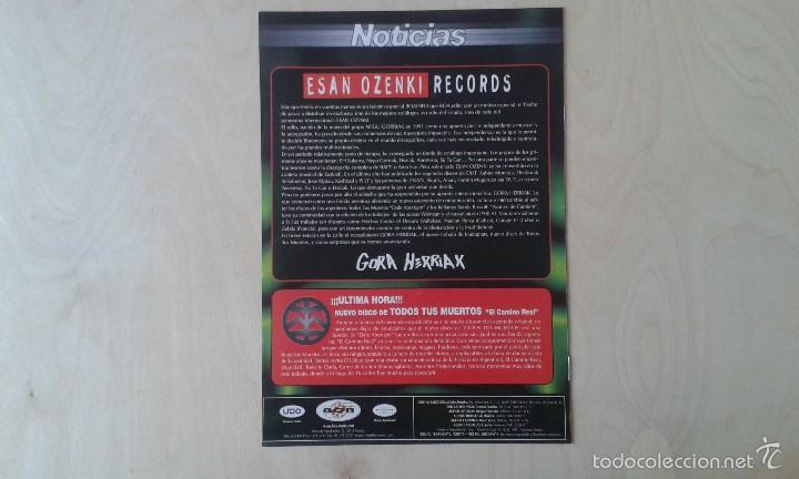 Catálogos de Música: BOAINFO -- Especial ESAN OZENKI -- Anari, Joxe Ripiau, Kashbad, Skunk, Su Ta Gar, Anestesia, 2 Kate. - Foto 3 - 57256581