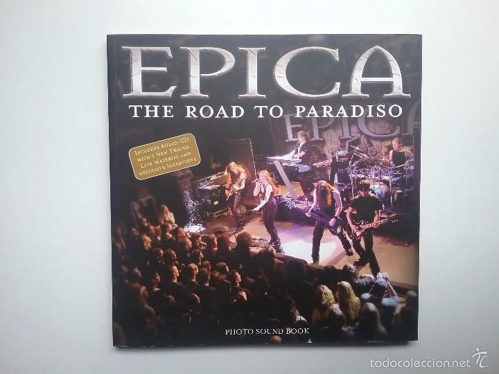 EPICA HEAVY METAL LIBRO THE ROAD TO PARADISO AÑO 2006 (Música - Catálogos de Música, Libros y Cancioneros)
