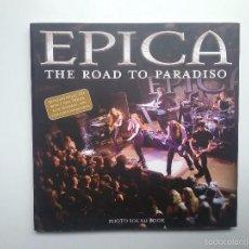 Catálogos de Música: EPICA HEAVY METAL LIBRO THE ROAD TO PARADISO AÑO 2006. Lote 57272190