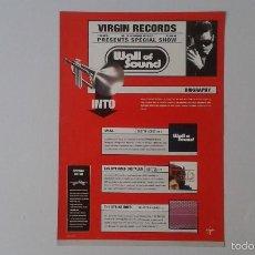 Catálogos de Música: CATÁLOGO VIRGIN RECORDS -- 1999 -- . Lote 57804066