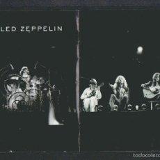 Catálogos de Música: LED ZEPPELIN.FOLLETO DE UN DVD.12 PÁGINAS.TAMAÑO: 18 X 12 CTMS.. Lote 57838139