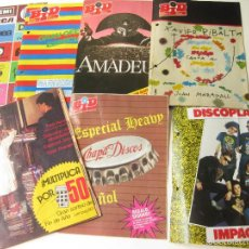 Catálogos de Música: 6 CATALOGOS O REVISTAS BID DE DISCOPLAY - REVISTA BOLETIN MUSICAL DE 1985. Lote 57942202