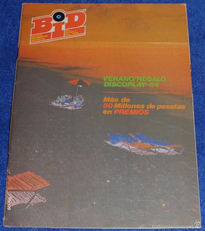 DISCOPLAY Nº 7 - JULIO 1984 (Música - Catálogos de Música, Libros y Cancioneros)