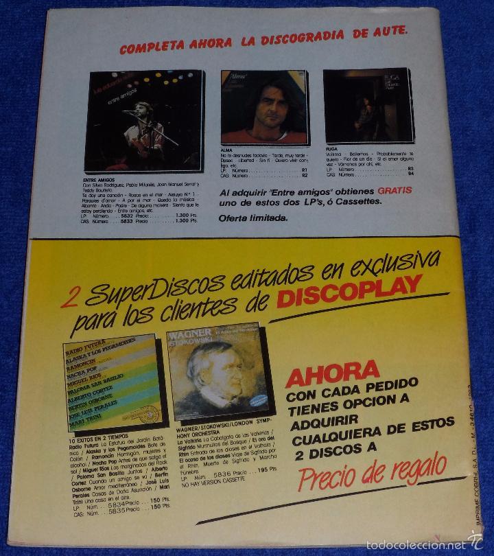 Catálogos de Música: Discoplay nº 7 - Julio 1984 - Foto 6 - 58020019