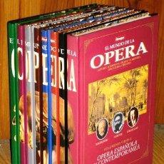 Catálogos de Música: EL MUNDO DE LA OPERA 8T COMPLETO POR TIEMPO / GRUPO Z EN BARCELONA 1993. Lote 58069917