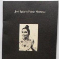 Catálogos de Música: SOBRE ISABELITA DE JEREZ Y SU MUERTE EN ZAMORA, JOSÉ IGNACIO PRIMO MARTÍNEZ. Lote 94988147