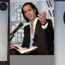 Catálogos de Música - Nick Cave. Firmado a mano. Su novela The Death of Bunny Munro. Precintada y en estuche - 58602267