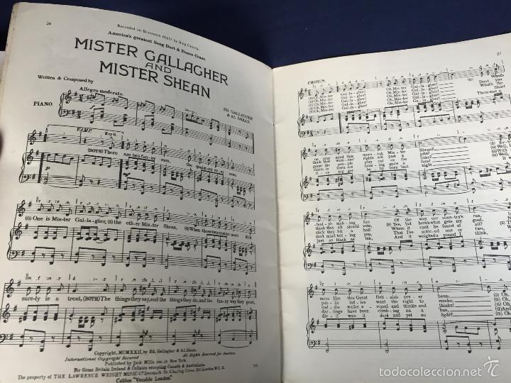 Catálogos de Música: the Bing crosby portrait album lawrence wright copyright cancionero 26,5x21cms - Foto 3 - 58608363
