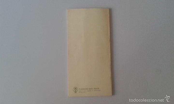 Catálogos de Música: MÚSICA DEL SIGLO XX PARA DOS PIANOS -- Fundación JUan March -- Oct.-Nov. 1986 -- - Foto 4 - 59884295