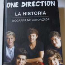 Catálogos de Música: ONE DIRECTION BIOGRAFIA NO AUTORIZADA. DANNY WHITE . Lote 60272087