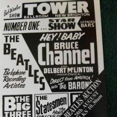 Catálogos de Música: CATÁLOGO SUBASTA BEATLES LIVERPOOL 1993. Lote 60318383