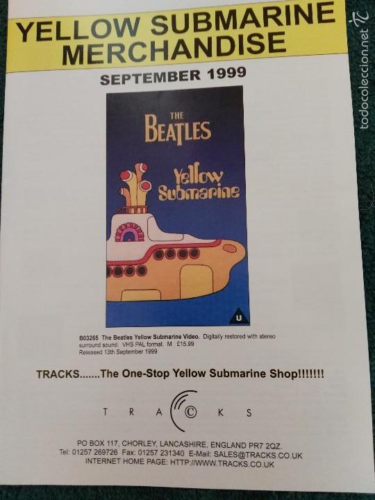 CATÁLOGO TRACKS BEATLES MEMORABILIA (Música - Catálogos de Música, Libros y Cancioneros)