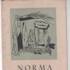 Catálogos de Música: LIBRO ASOCIACIÓN AMIGOS DE LA ÓPERA DE BILBAO. 3º GRAN FESTIVAL DE ÓPERA. 1954 . Lote 60771979