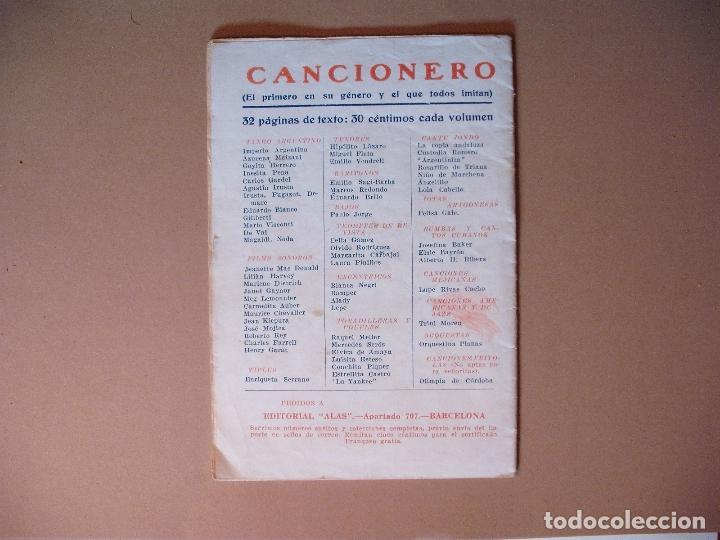 Catálogos de Música: CANCIONERO , LAURA PINILLOS, Nº 30 EDITORIAL ALAS, 1934 - Foto 2 - 61377783